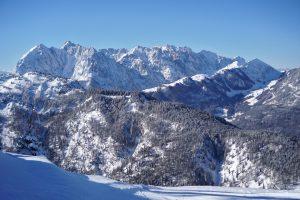 Wilder Kaiser im Winter