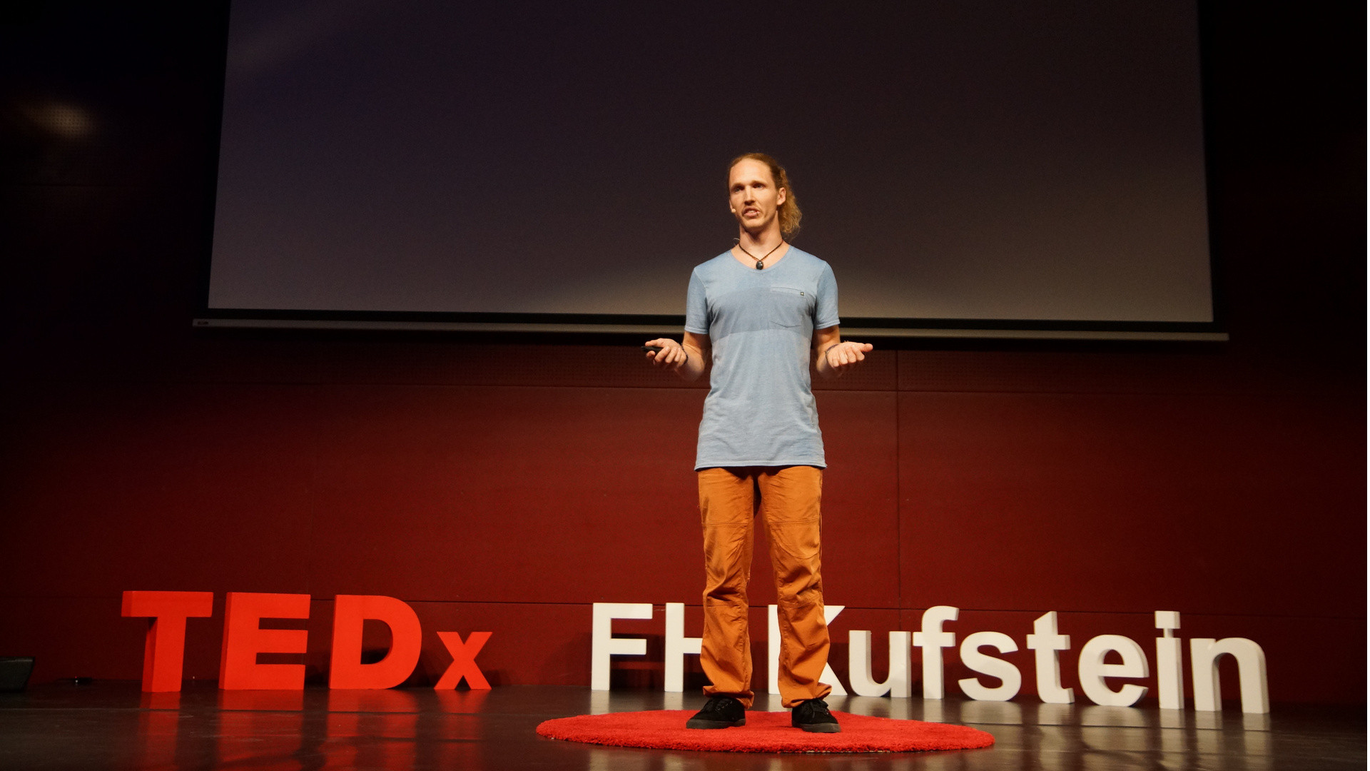 TEDx Talk: Finding the right balance in extreme sports