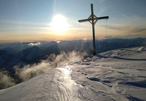 Wingsuit Mission zum Schneefernerkopf
